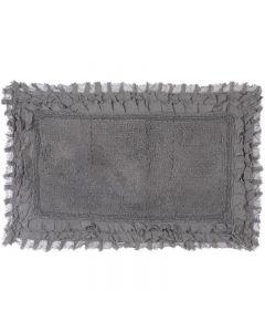 Tappeto bagno con frills grigio Blanc Mariclo