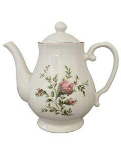 Teiera In Ceramica Moss Rose