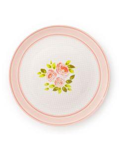 Piatto dolce Margaret con rose