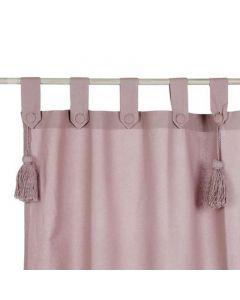 Tenda Con Passanti Rosa Polvere