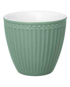 Latte Cup Verde Polvere Alice
