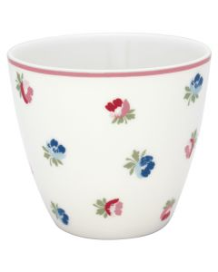 Latte Cup Viola Bianca