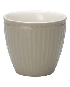 Latte Cup Grigio Chiaro Alice