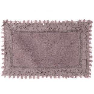 Teppeto bagno con frills rosa Blanc Mariclo
