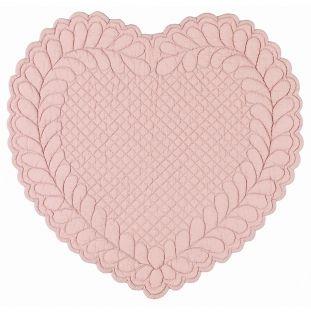 Tovaglietta Boutis Cuore Rosa