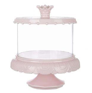 Alzatina Con Coperchio Rosa Le Petit Gourmand Grande