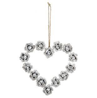 Ghirlanda Romance Coeur Modello Medio