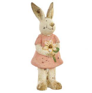 Deco Coniglietta In Ceramica