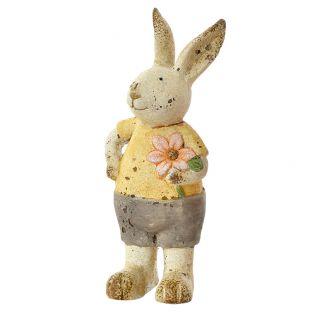 Deco Coniglietto In Ceramica
