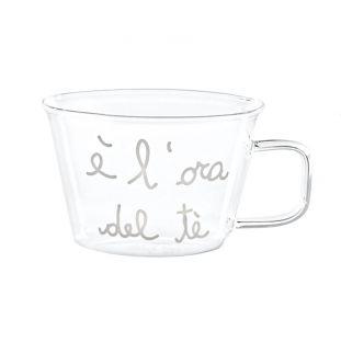 """Set 2 Tazze 280ml """"È L'Ora Del Tè"""""""